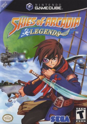 Skies of Arcadia Legends Cover Art