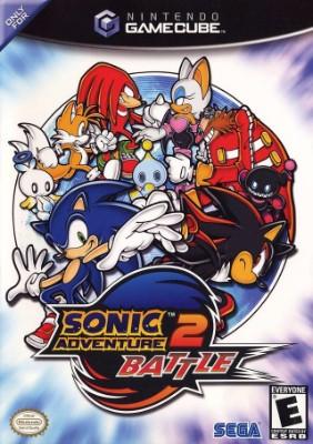 Sonic Adventure 2: Battle Cover Art