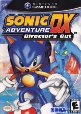 Sonic Adventure DX Cover Art