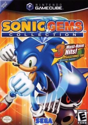 Sonic Gems Collection Cover Art