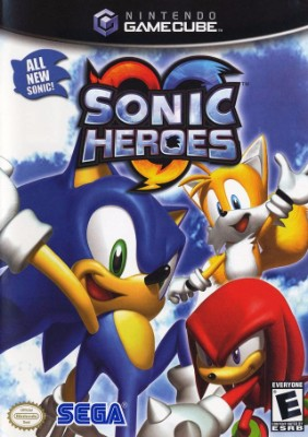 Sonic Heroes Cover Art