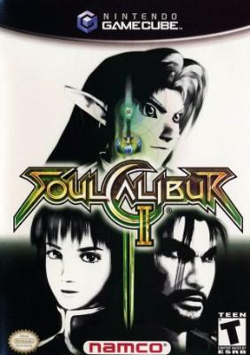 SoulCalibur II Cover Art