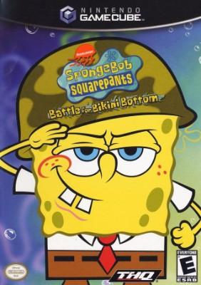 SpongeBob SquarePants: Battle for Bikini Bottom Cover Art