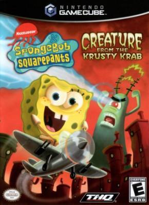 SpongeBob SquarePants: Creature from the Krusty Krab Cover Art