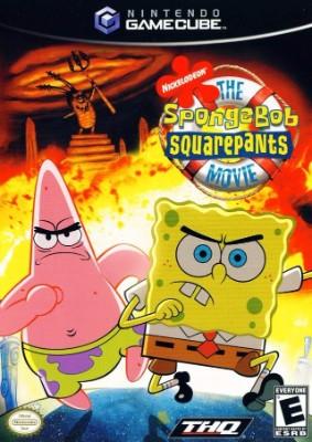 SpongeBob SquarePants Movie Cover Art