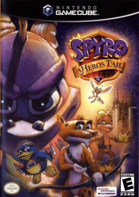 Spyro: A Hero's Tail Cover Art