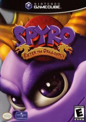 Spyro: Enter the Dragonfly Cover Art