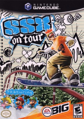 SSX On Tour Cover Art
