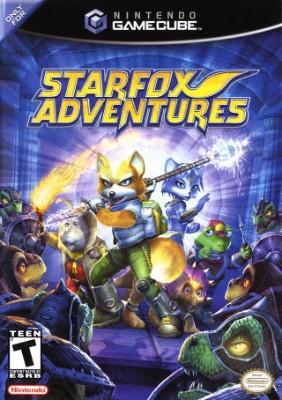 Star Fox Adventures Cover Art
