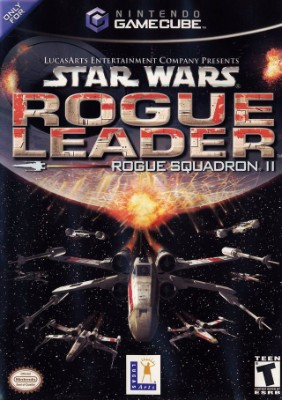 Star Wars Rogue Squadron II: Rogue Leader Cover Art