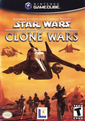 Star Wars: The Clone Wars Cover Art