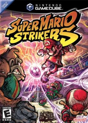 Super Mario Strikers Cover Art