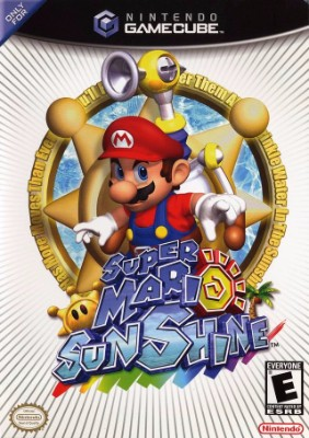 box cover art for Super Mario Sunshine
