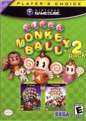 Super Monkey Ball 2-Pack Cover Art