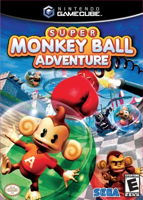 Super Monkey Ball Adventure Cover Art