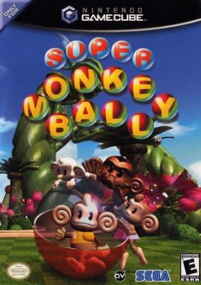 Super Monkey Ball Cover Art