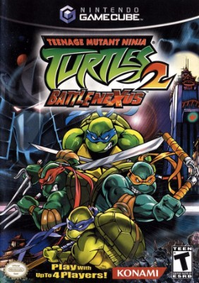 Teenage Mutant Ninja Turtles 2: Battle Nexus Cover Art
