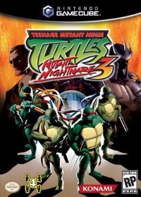 Teenage Mutant Ninja Turtles 3: Mutant Nightmare Cover Art
