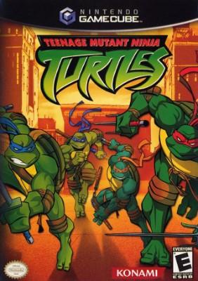 Teenage Mutant Ninja Turtles Cover Art