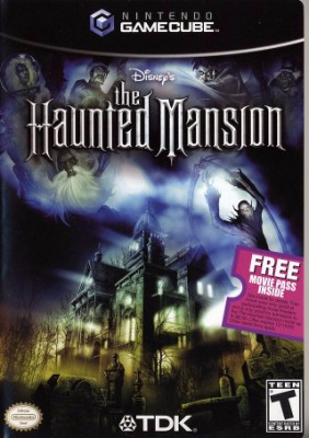 Haunted Mansion Cover Art