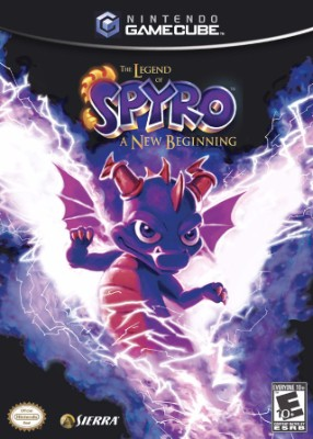 Legend of Spyro: A New Beginning Cover Art