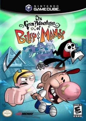 Grim Adventures of Billy & Mandy Cover Art