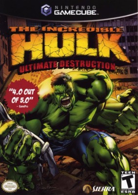 Incredible Hulk: Ultimate Destruction Cover Art