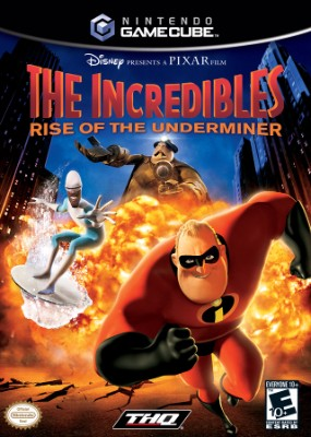 Incredibles: Rise of the Underminer Cover Art