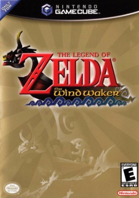 Legend of Zelda: The Wind Waker Cover Art
