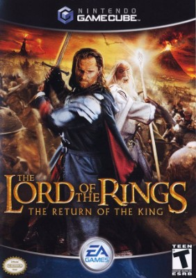 Lord of the Rings: The Return of the King Cover Art