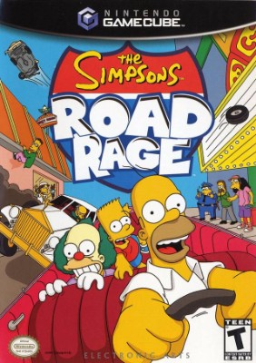 Simpsons: Road Rage Cover Art