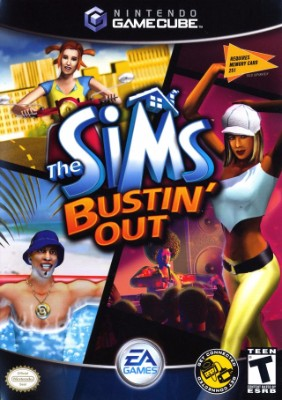 Sims Bustin' Out Cover Art