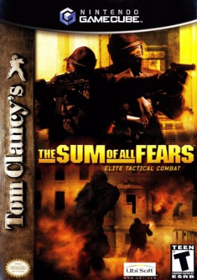 Tom Clancy's The Sum of All Fears Cover Art