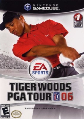 Tiger Woods PGA Tour 06 Cover Art