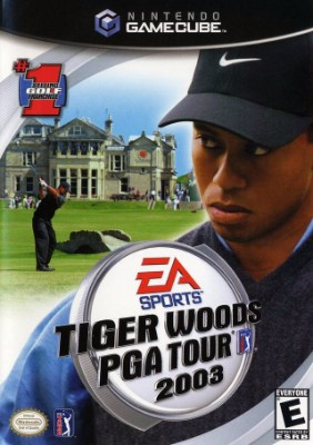 Tiger Woods PGA Tour 2003 Cover Art