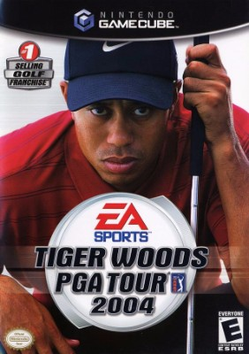 Tiger Woods PGA Tour 2004 Cover Art