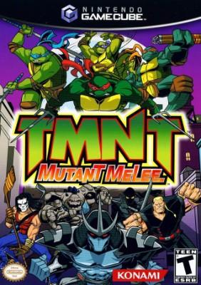 TMNT: Mutant Melee Cover Art