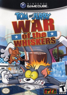 Tom & Jerry: War of the Whiskers Cover Art