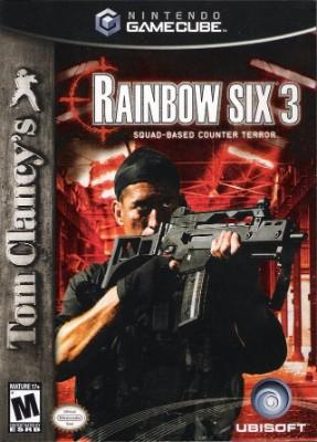 Tom Clancy's Rainbow Six 3 Cover Art