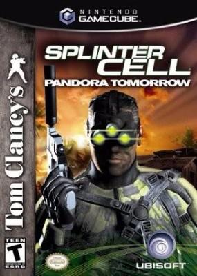 Tom Clancy's Splinter Cell Pandora Tomorrow Cover Art
