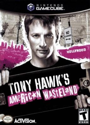 Tony Hawk's American Wasteland Cover Art