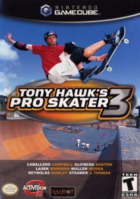Tony Hawk's Pro Skater 3 Cover Art