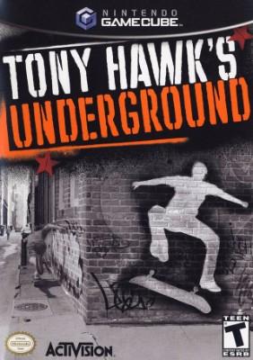 Tony Hawk's Underground Cover Art