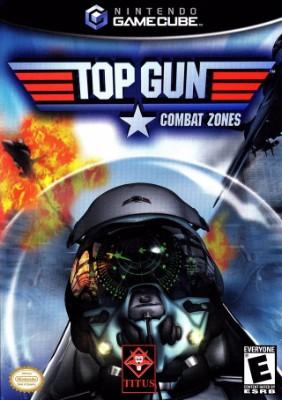 Top Gun: Combat Zones Cover Art