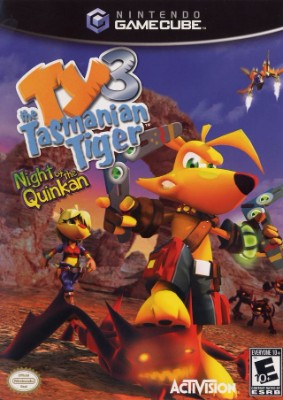 Ty the Tasmanian Tiger 3: Night of the Quinkan Cover Art