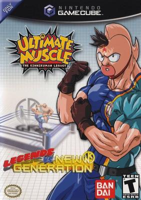 Ultimate Muscle: Legends vs. New Generation Cover Art