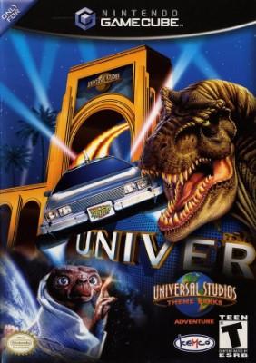 Universal Studios Theme Parks Adventure Cover Art