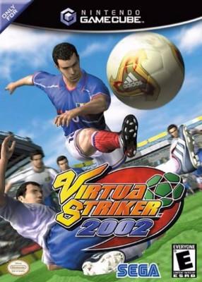 Virtua Striker 2002 Cover Art