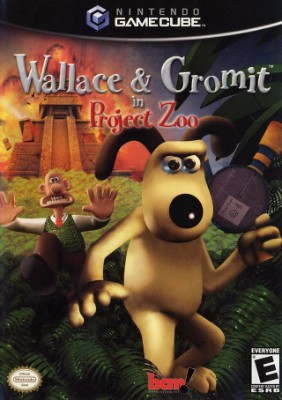 Wallace & Gromit in Project Zoo Cover Art