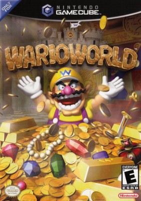 Wario World Cover Art